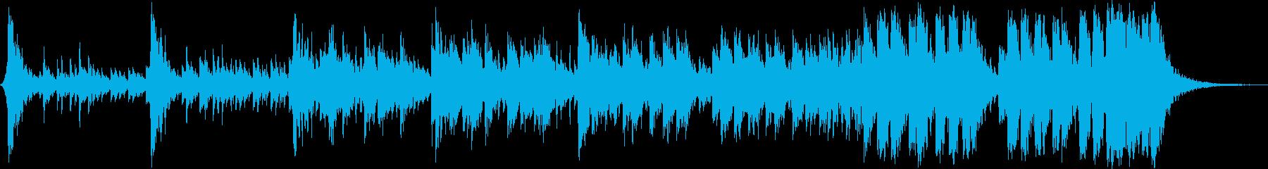 アコーステック アクション エキゾ...の再生済みの波形