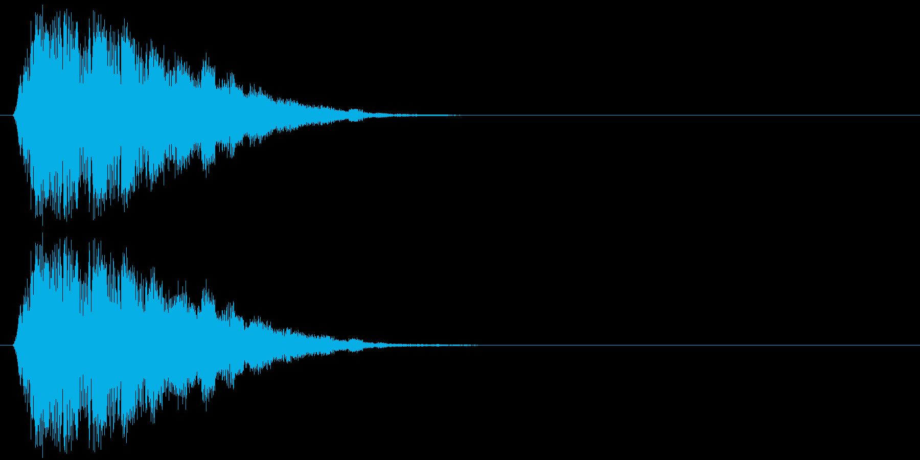キラキラキラッ↑(魔法、可愛い)の再生済みの波形