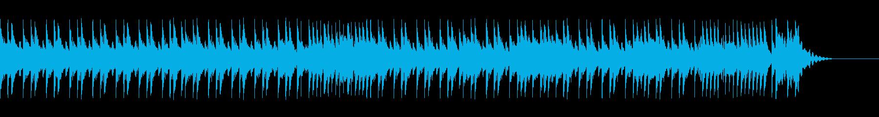 30秒のヘヴィなハードロック系シャッフルの再生済みの波形