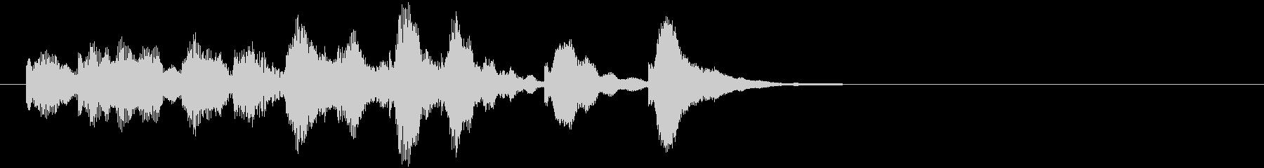 のほほんジングル002_かわいい+3の未再生の波形