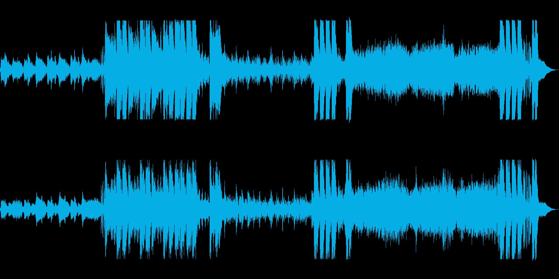 奇妙で不思議なハロウィン風オーケストラの再生済みの波形
