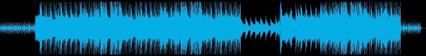 Lofi女性ボーカルのしっとり洋楽風の再生済みの波形