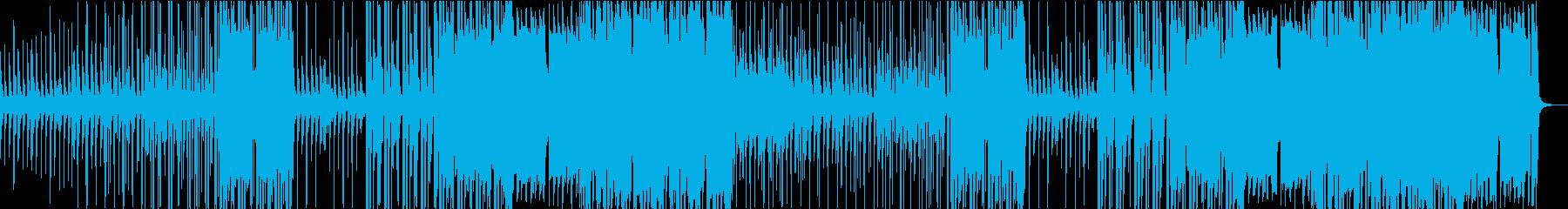 シンコペートされたスチールドラムを...の再生済みの波形