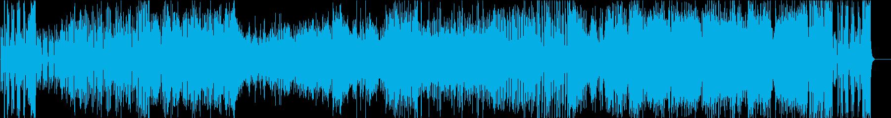 洗練されたジャズテイストの再生済みの波形