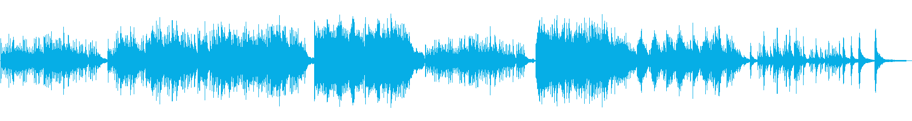 Sad, sad, beautiful piano solo's reproduced waveform