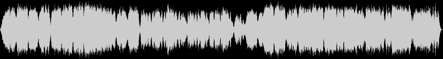 テルミン多重録音による音源ですの未再生の波形