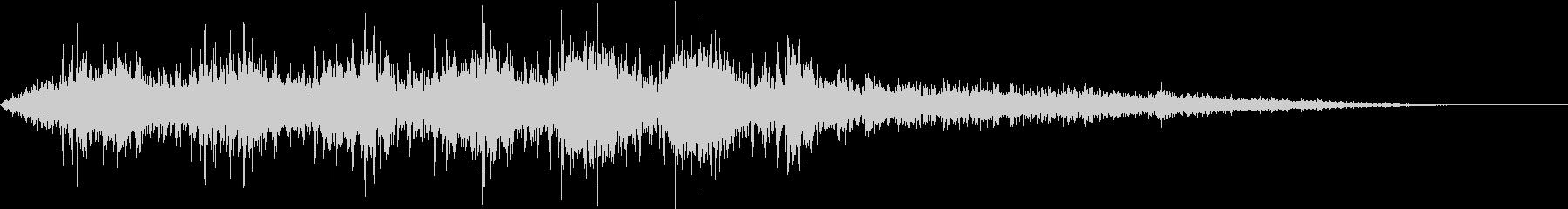 【生録音】電車が通る音 京王線1の未再生の波形