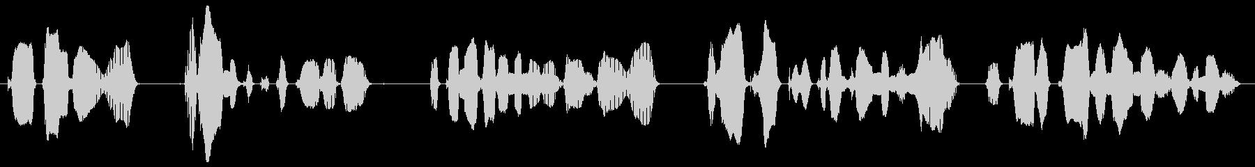 携帯電話・アラーム付時計など、音の出る…の未再生の波形