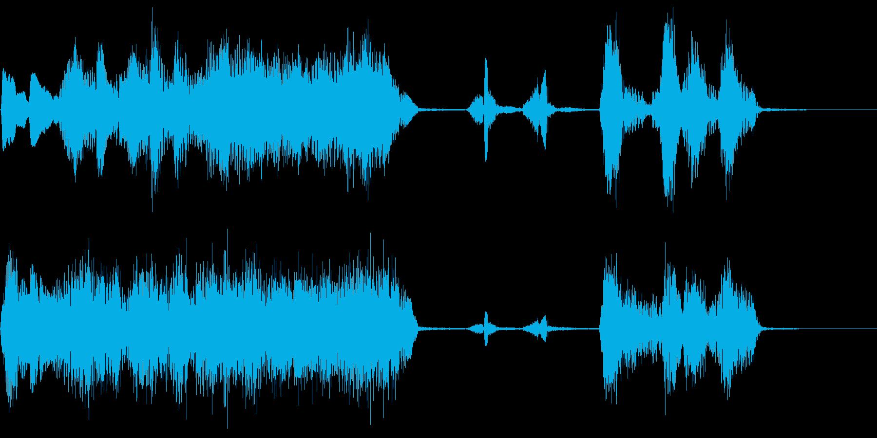 ツッコミ「何でやねん」コーラス/アカペラの再生済みの波形