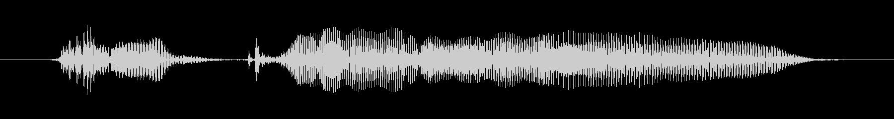マンチキン、女性の声:わかりましたの未再生の波形