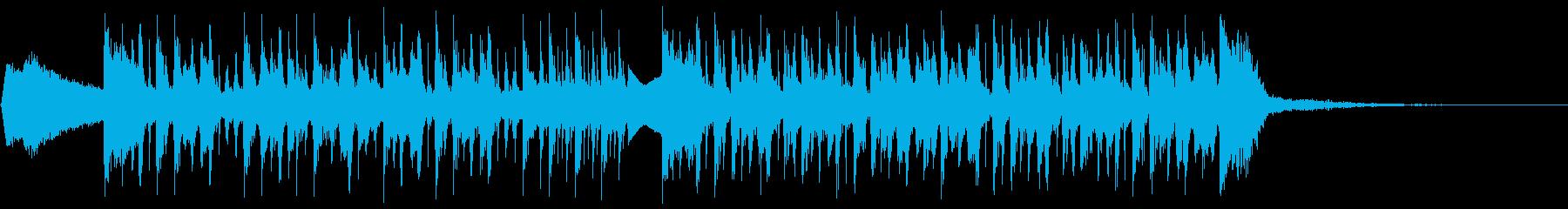 ふたらまの再生済みの波形