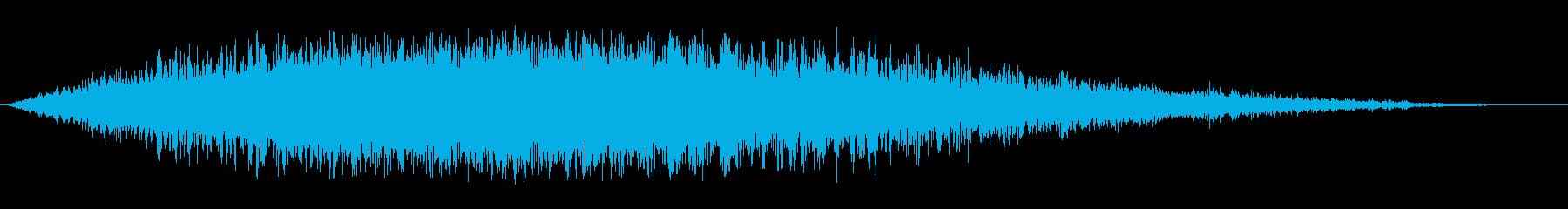 中空ブラストフーシュの再生済みの波形