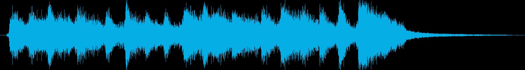 場面転換やつなぎにいかがでしょうか。ハ…の再生済みの波形
