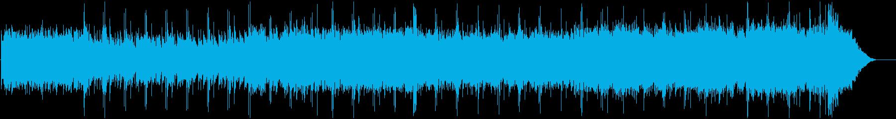 幻想的なミュージックボックスの再生済みの波形