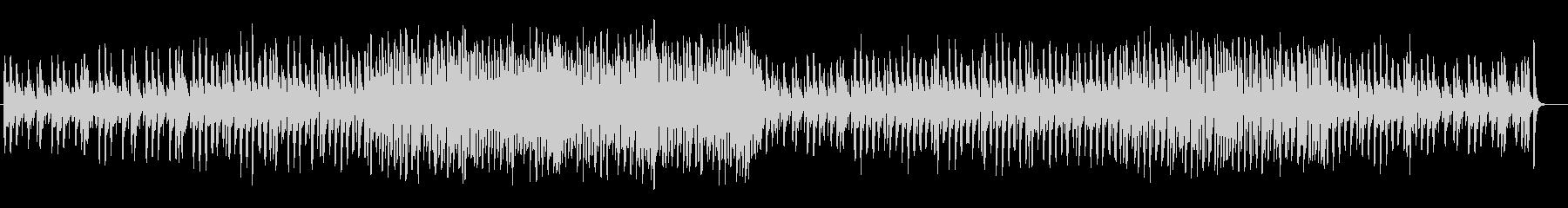 可愛らしく弾む木琴シンセサイザー曲の未再生の波形