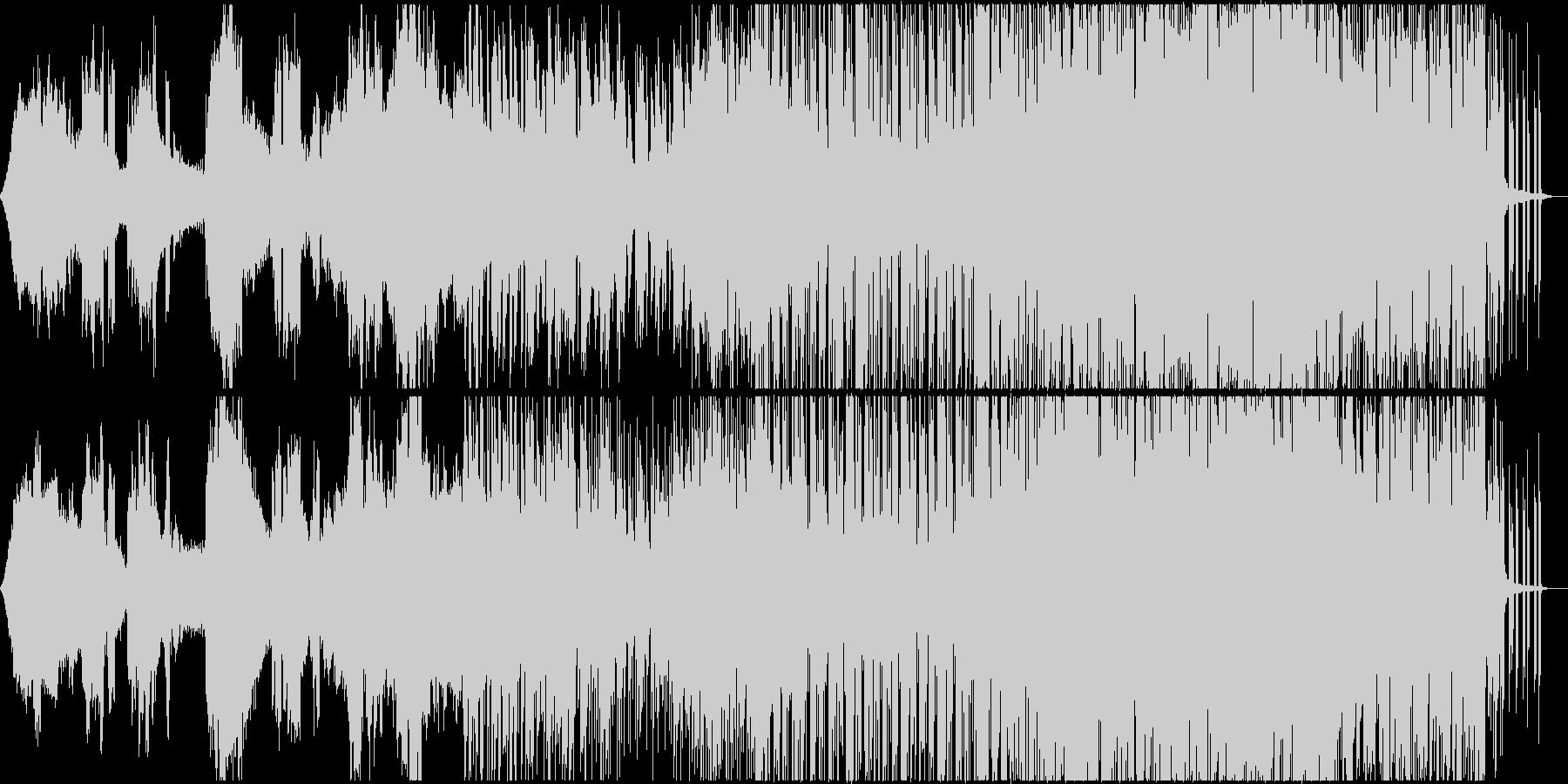 映像 CM Vlog タイムラプスの未再生の波形