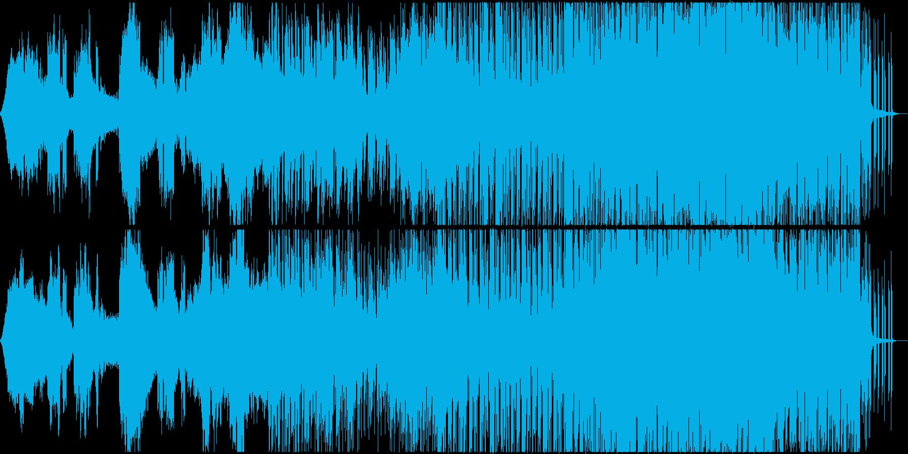 映像 CM Vlog タイムラプスの再生済みの波形