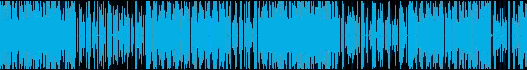 ファミコン風ちょっと切ないBGMの再生済みの波形