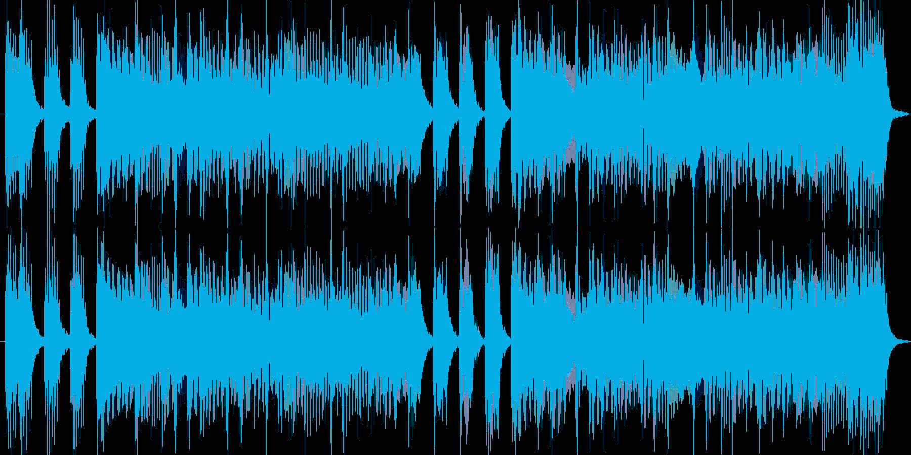 出囃子、入場用明るいピアノバイオリンの再生済みの波形