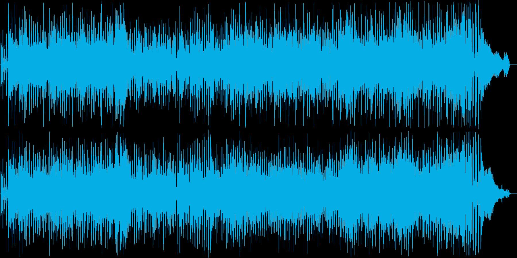 明るいアコースティックギタージャズの再生済みの波形