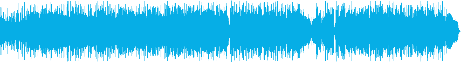 【バンドのみ】攻撃的なHR/HMの再生済みの波形