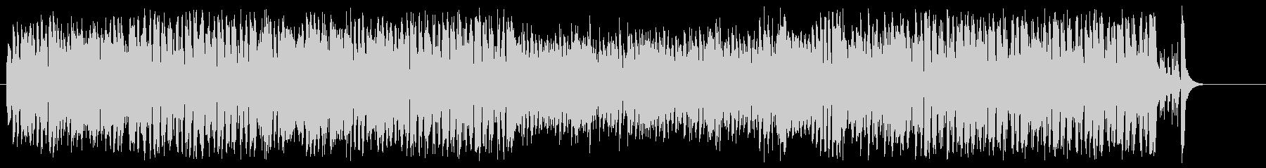 セントルイス風ジャズ・アンサンブルの未再生の波形