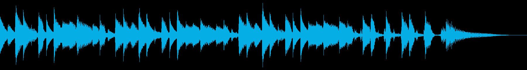 【ジングル/15秒】ほのぼのボサノバの再生済みの波形