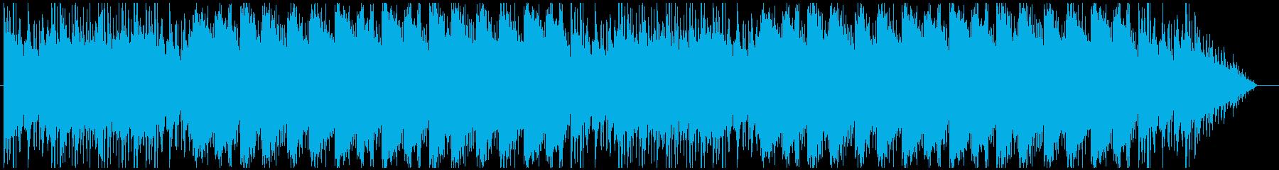 雪原のフィールドをイメージしたBGMの再生済みの波形