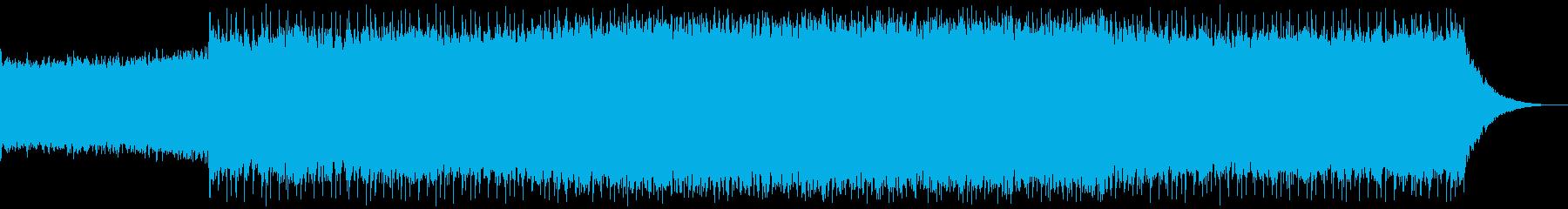 パワフルでモダンなギタードリブントラックの再生済みの波形