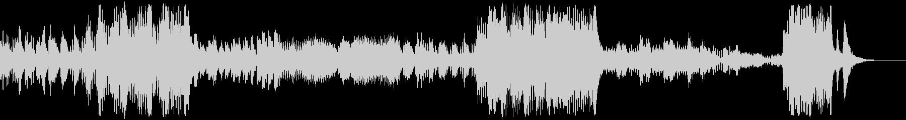 ピアノ協奏曲第22番第3楽章モーツァルトの未再生の波形