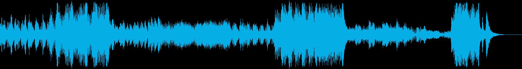 ピアノ協奏曲第22番第3楽章モーツァルトの再生済みの波形