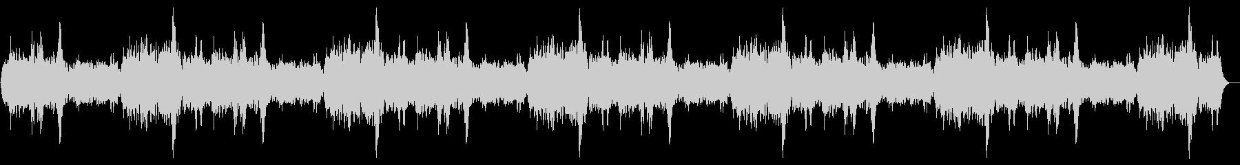 体内の音7分ループの未再生の波形