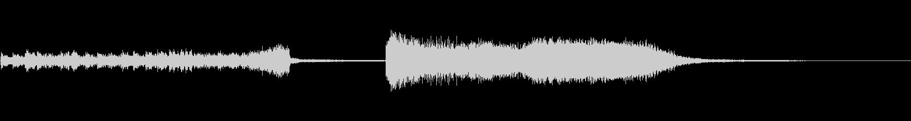 電子音のスロット、ガチャ系ファンファーレの未再生の波形
