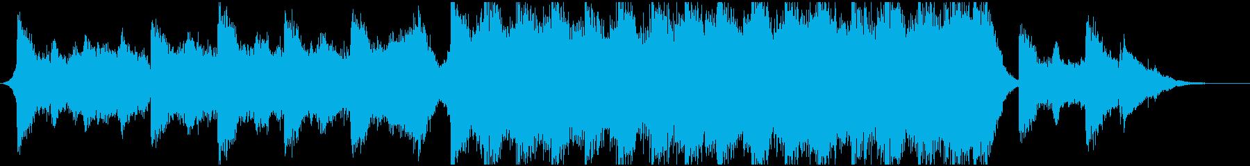 エレクトロ 交響曲 広い 壮大 ド...の再生済みの波形