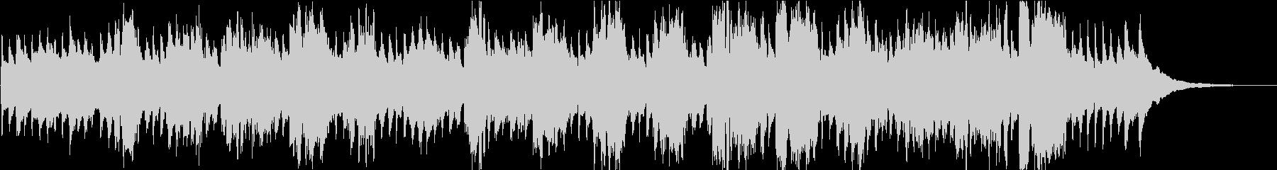 赤ちゃん寝かしつけ歌(周波数432hz)の未再生の波形
