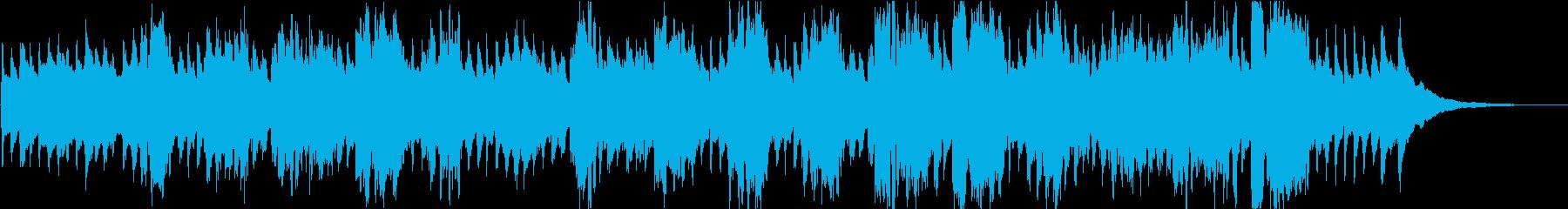 赤ちゃん寝かしつけ歌(周波数432hz)の再生済みの波形