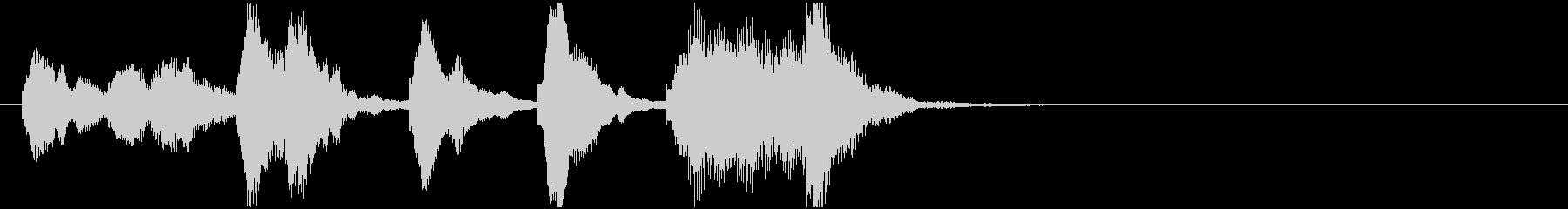 のほほんジングル001_コミカル+3の未再生の波形