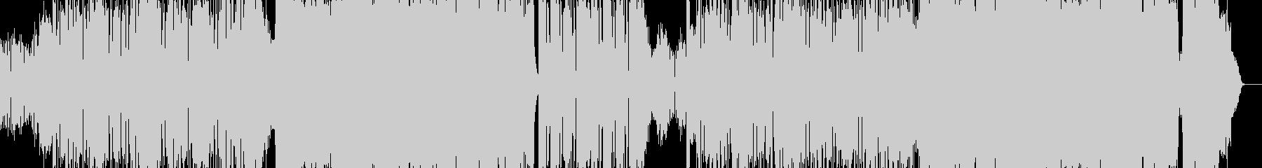 ギターロック メタル デスボイスの未再生の波形