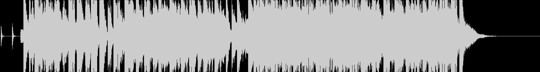 軽快 スラップベース ファンクポップの未再生の波形