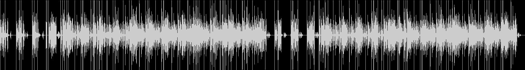 インダストリアルなシーンミュージックの未再生の波形
