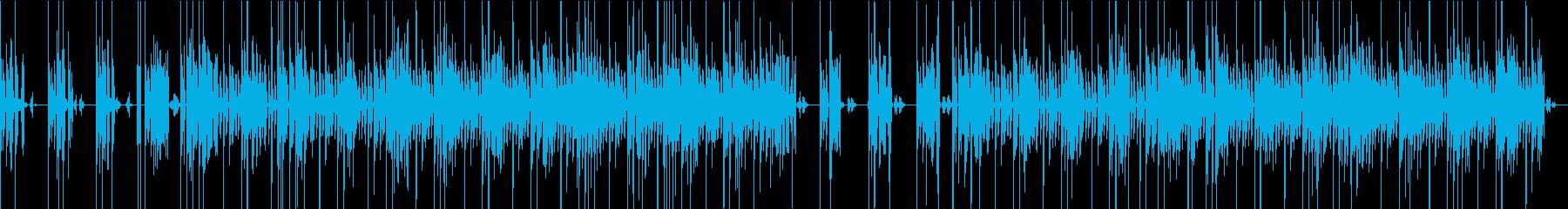 インダストリアルなシーンミュージックの再生済みの波形