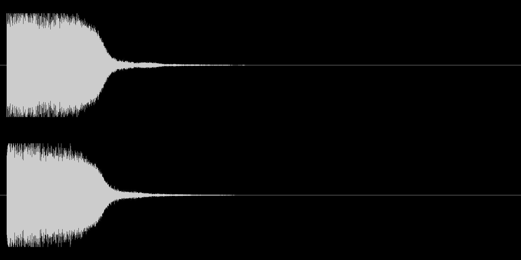 レーザー音-86-1の未再生の波形