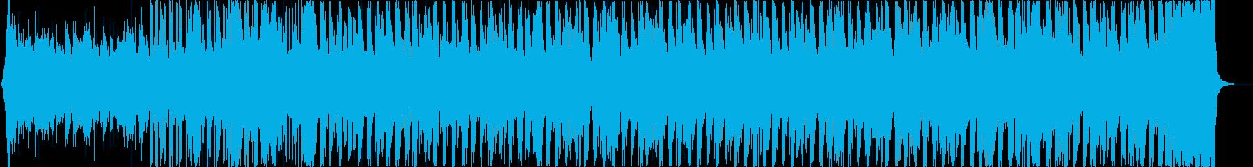おしゃれ軽快華やかディスコネオソウルbの再生済みの波形