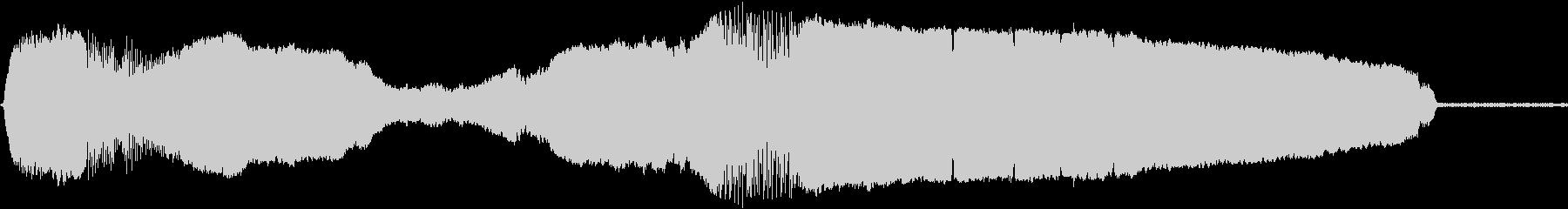 ウルフハウル、うめき声の未再生の波形