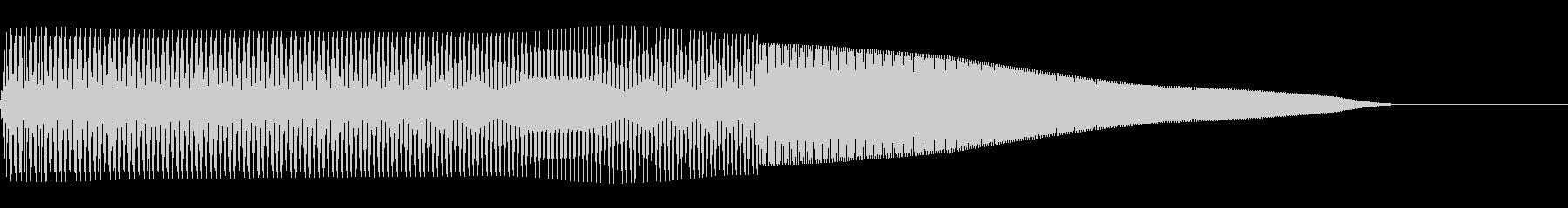 プーパー(ファミコン/ジャンプ/落下)の未再生の波形