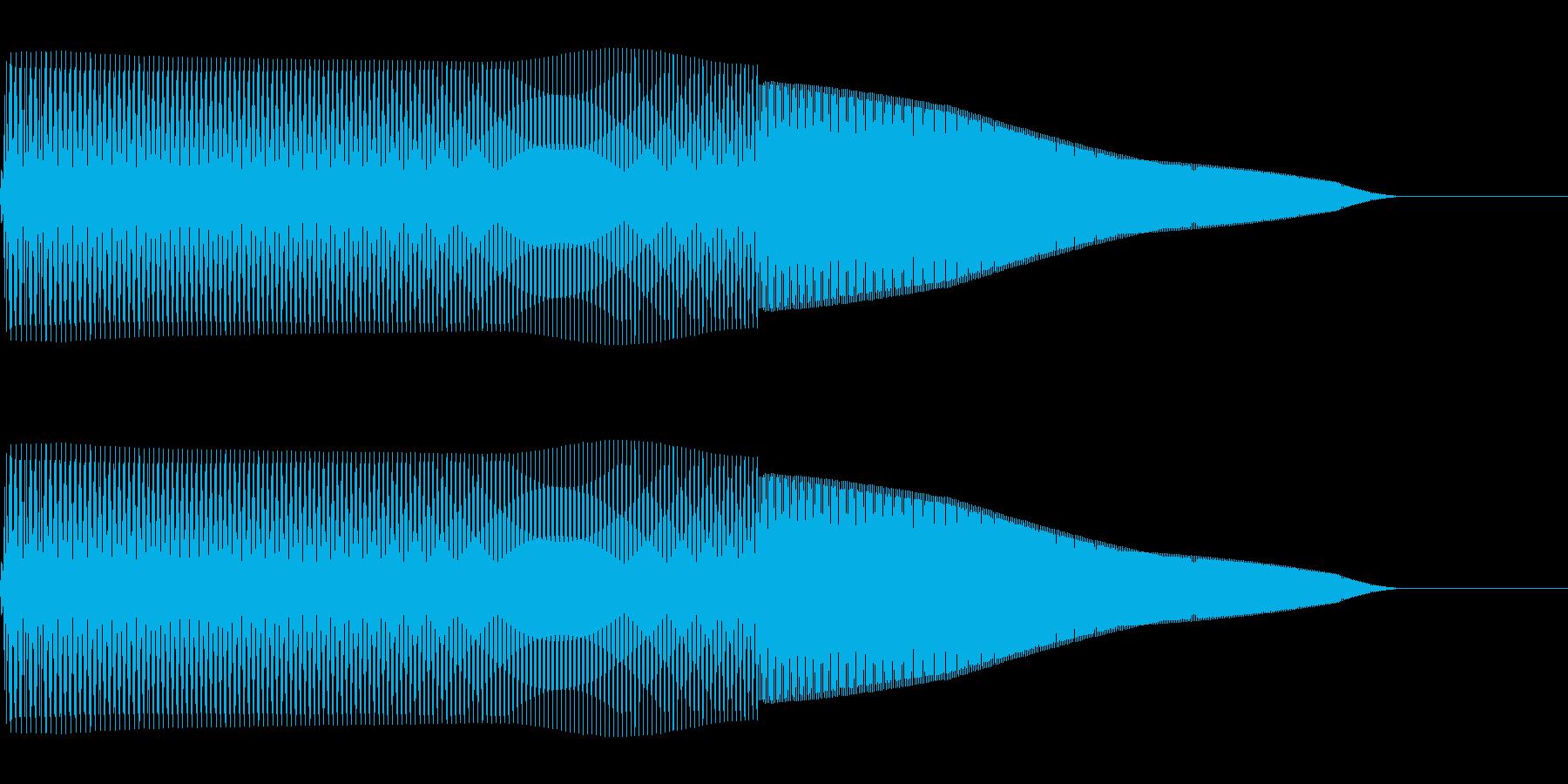 プーパー(ファミコン/ジャンプ/落下)の再生済みの波形