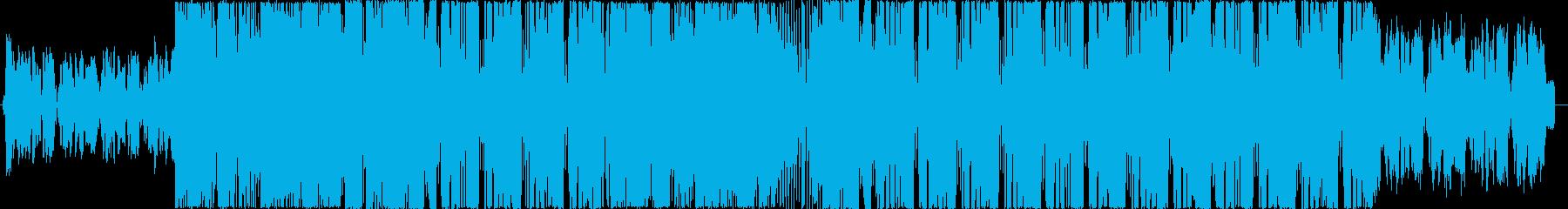 Kawaii future bass風の再生済みの波形