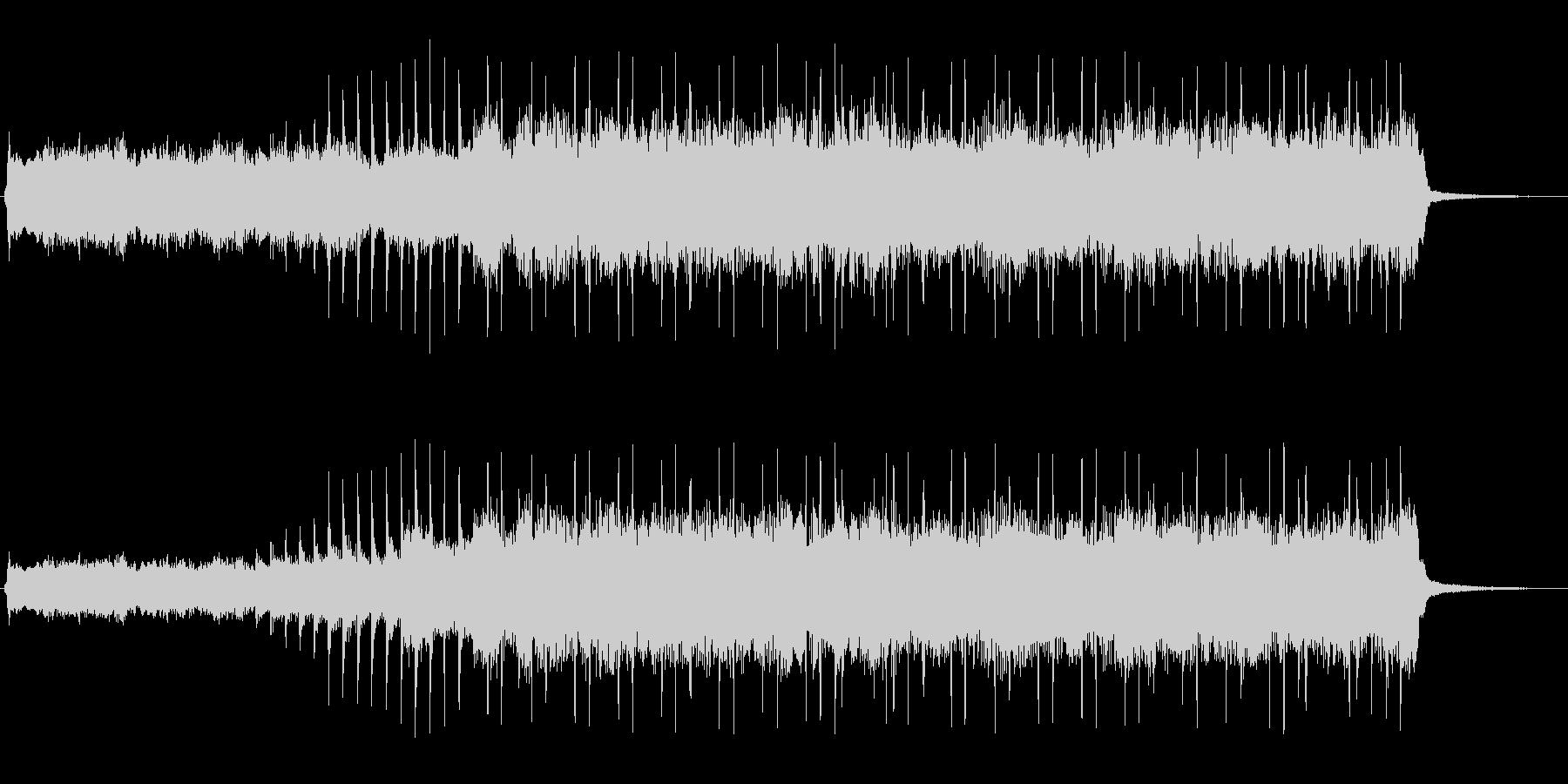 ハードロックなジングル(格闘・バトル)の未再生の波形