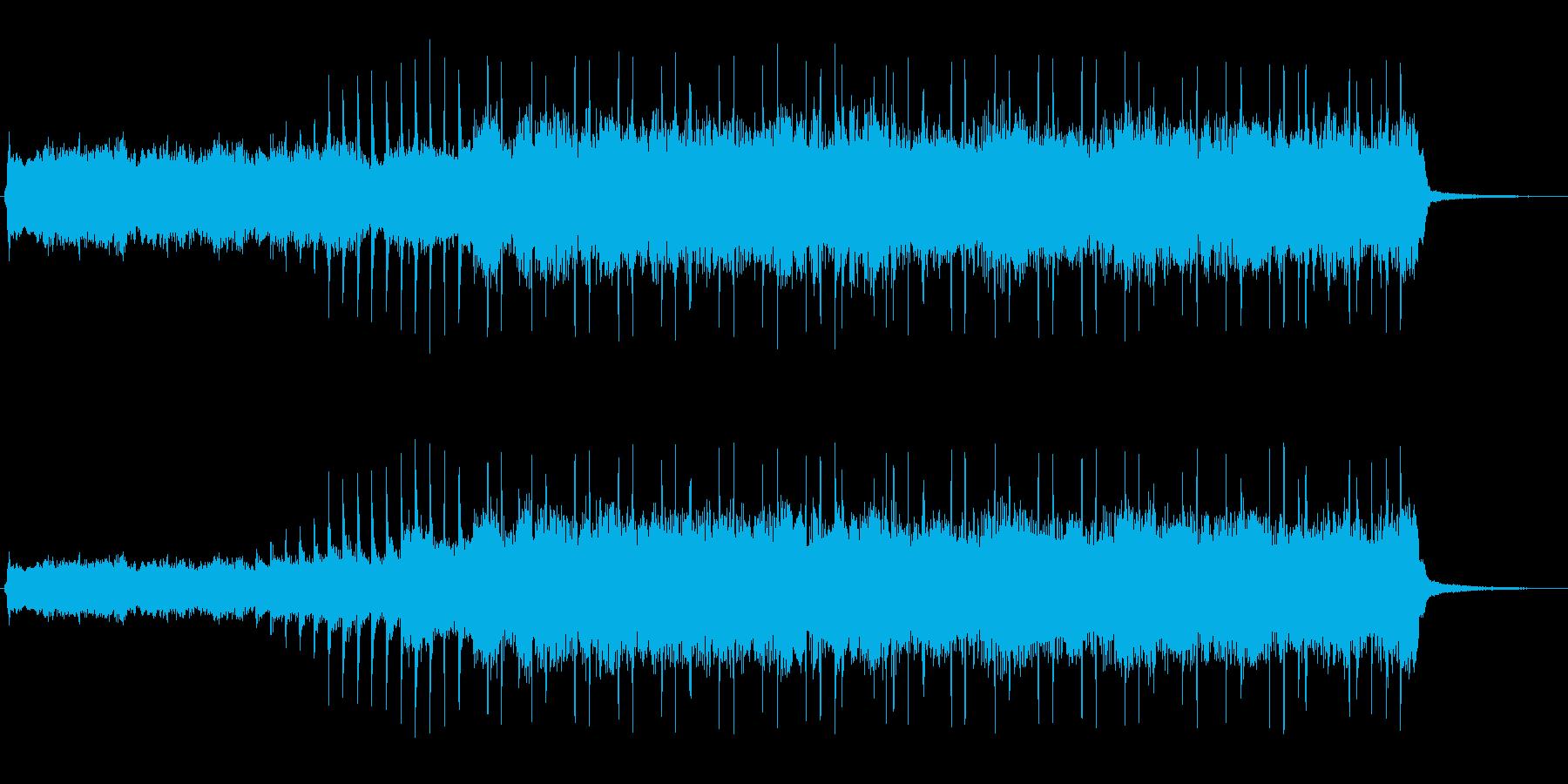 ハードロックなジングル(格闘・バトル)の再生済みの波形