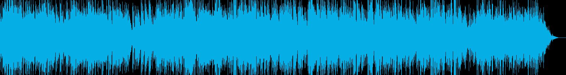 切なく悲しい日本テイストなアコギバラードの再生済みの波形